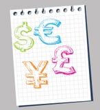 символы валюты бесплатная иллюстрация