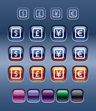 символы валюты Стоковая Фотография RF