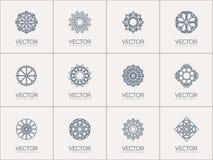 Символы вектора геометрические Стоковые Изображения RF