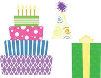 символы дня рождения Стоковое фото RF