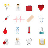 символы здоровья внимательности медицинские Стоковые Фото
