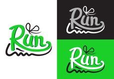 Символы идущего ботинка на различной предпосылке иллюстрация вектора