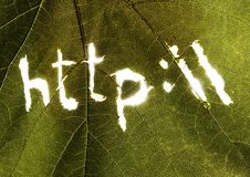 символы интернета стоковое фото