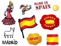 символы Испании Стоковая Фотография RF
