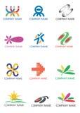 символы логосов компании Стоковая Фотография RF