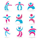 символы людей Стоковое Изображение