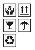символы пакета Стоковое Фото
