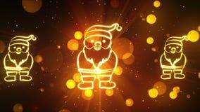 Символы 16 рождества сток-видео
