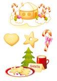 символы рождества Стоковые Изображения RF