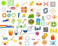 символы Стоковое Изображение RF