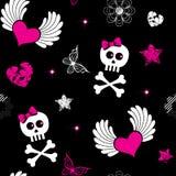 символы emo безшовные Стоковые Фото