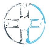 символ абстрактного искусства Стоковое Изображение