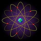 символ атома Стоковая Фотография