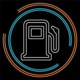 Символ бензоколонки - бензиновая колонка бесплатная иллюстрация