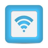 Символ беспроводной сети (Wifi). Вектор Стоковые Изображения RF