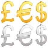 Символ валюты иллюстрация штока