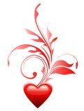 символ влюбленности сердца Стоковые Изображения