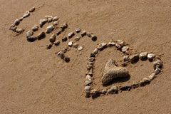 символ влюбленности Стоковые Фотографии RF