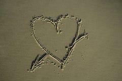 символ влюбленности стоковые фото