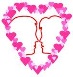символ влюбленности Стоковое Изображение RF