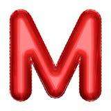 Символ воздушного шара фольги шаржа Реалистическая иллюстрация 3d Вечеринка по случаю дня рождения, дети party, событие детского  Стоковые Фотографии RF