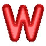 Символ воздушного шара фольги шаржа Реалистическая иллюстрация 3d Вечеринка по случаю дня рождения, дети party, событие детского  Стоковое Изображение