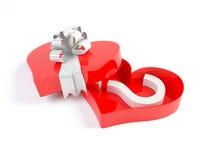 символ вопросе о сердца коробки Стоковые Изображения RF