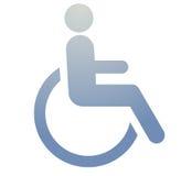 символ гандикапа Стоковая Фотография RF
