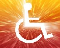 символ гандикапа Стоковое Изображение RF