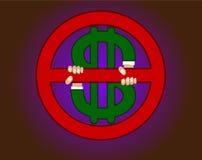 символ дег Стоковая Фотография