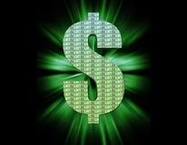 символ доллара Стоковые Фото