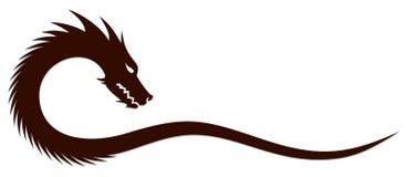 Символ дракона Стоковая Фотография