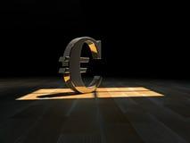 Символ евро иллюстрация штока
