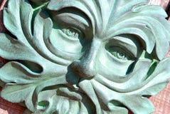 символ зеленого человека плодородности Стоковые Изображения RF