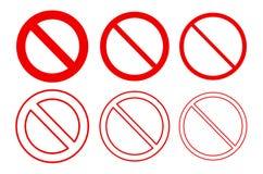 Символ знака пробела красный запрещенный для плана бесплатная иллюстрация