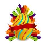 символ золота пасхального яйца Стоковые Фото