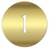 символ золота Стоковые Фото