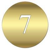 символ золота Стоковые Изображения