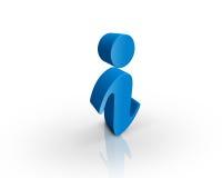 символ информации Стоковые Фото