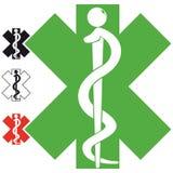 символ логоса медицинский Стоковые Фотографии RF