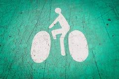 Символ майны велосипеда на том основании. стоковые изображения rf