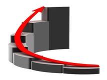 символ маркетинга Стоковая Фотография