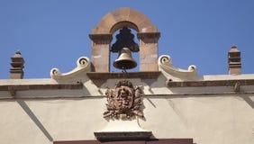 символ Мексики правительства колокола мексиканский Стоковые Фото