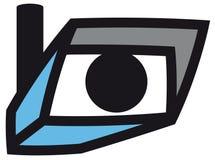 символ обеспеченностью камеры иллюстрация вектора