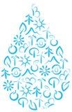 символ окружающей среды Стоковые Фото