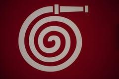 символ пожарного рукава Стоковое Изображение