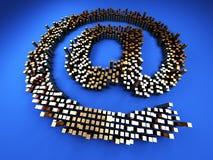 символ почты Стоковые Фото