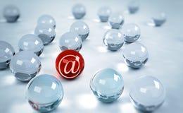 символ почты Стоковое Фото