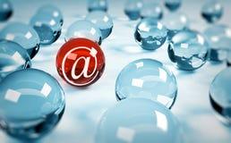 символ почты Стоковая Фотография