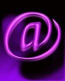 символ почты e Стоковое фото RF